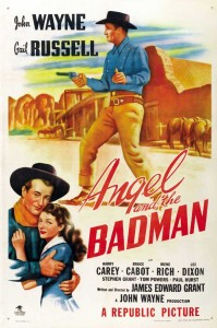 watch Angel and the badman full John Wayne Western