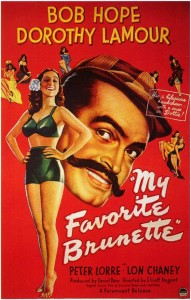Watch my favorite brunette starring Bob Hope and Dorothy Lamour full classic movie
