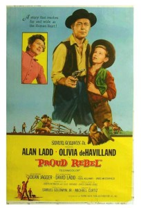 watch the proud rebel full Alan Ladd western movie