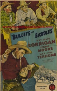 Range Busters Bullets and Saddles western movie full length